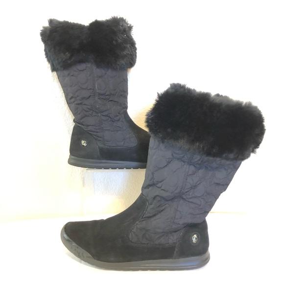 Coach nylon boots